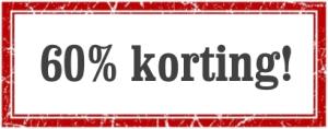 Starterskorting tot 60%