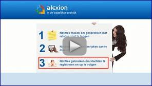 Notities gebruiken om klachten registreren