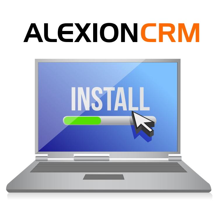 Installeer Alexion CRM