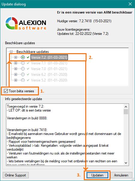 Alexion CRM - download versie 7.2