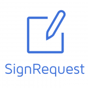 SignRequest logo en tekst