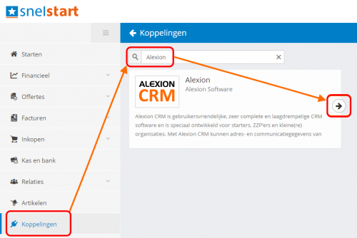 SnelStart API ophalen - stap 1