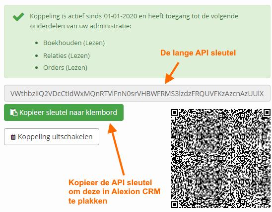 SnelStart API ophalen - stap 4