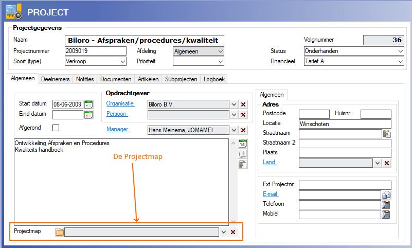 Alexion CRM Projectmap