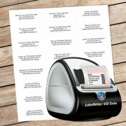 Etiketten en labels printen in Alexion CRM